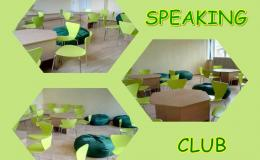 Speaking club! Welcome!